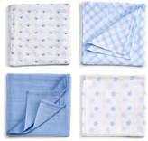 Gund Spunky 4-Pack Swaddle Blanket
