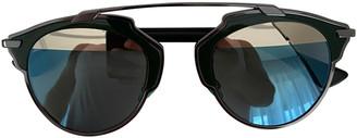 Christian Dior So Real Green Metal Sunglasses