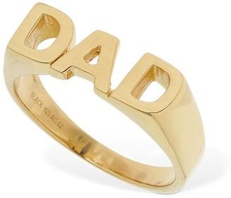 Maria Black Dad Ring