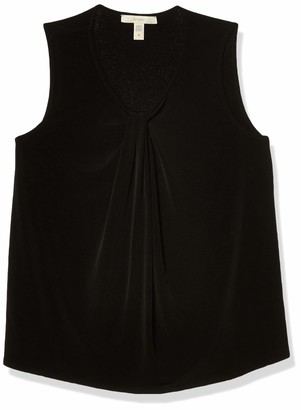 Lark & Ro Amazon Brand Women's Sleeveless V-Neck Top