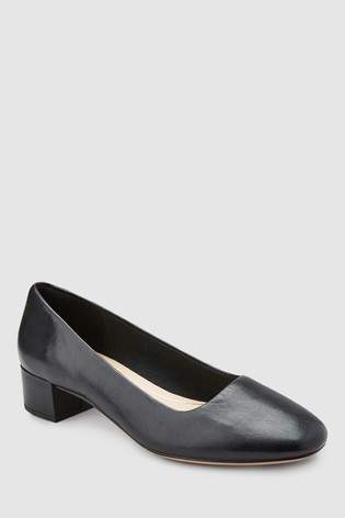 Next Womens Clarks Black Orabella Alice Low Block Heel