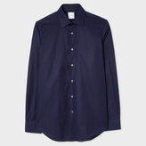 Paul Smith Men's Classic-Fit Navy Cotton 'Artist Stripe' Cuff Shirt