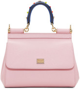 Dolce & Gabbana Pink Mini Miss Sicily Bag