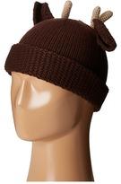 San Diego Hat Company KNH3407 Knit Cuffed Beanie with Deer Ears