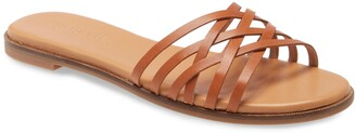Madewell The Tracie Crisscross Slide Sandal