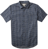 VISSLA Shielded Printed Short Sleeve Woven Shirt
