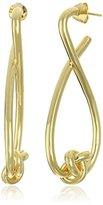 Jules Smith Designs Knot Post Hoop Earrings