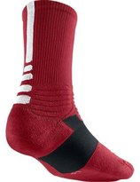 Nike Hyperelite Basketball Crew Dri-Fit Men Socks Black/White SX4801-007 (SIZE: M)