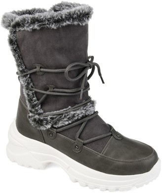 Journee Collection Polar Fashion Women's Winter Boots