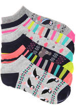 Mix No. 6 Arctic No Show Socks - 6 Pack - Women's