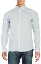 Selected Button-Down Collar Slim Shirt