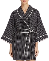 Kate Spade Polka Dot Short Robe