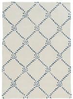 Linon Trio Rope Design Rug
