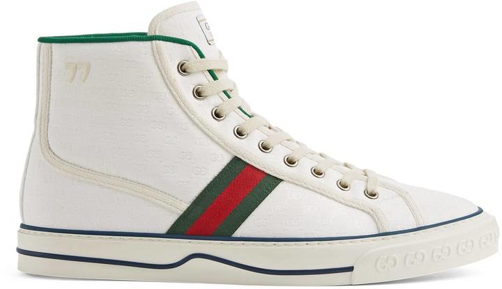 Gucci Men's Tennis 1977 high top sneaker