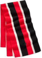 Polo Ralph Lauren Men's Knit Vertical-Stripe Scarf