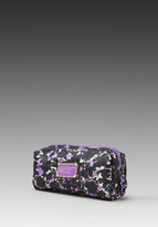 Marc by Marc Jacobs Pretty Nylon Exeter Print Narrow Cosmetics Bag