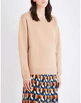 Dries Van Noten Oversized wool and cashmere-blend jumper