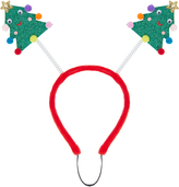 Accessorize Pet Christmas Tree Head Boppers
