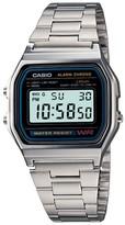 Casio Men's Digital Bracelet Watch - Silver (A158W-1)