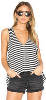 One Teaspoon The Cantina Lennon Tank in Black & White. - size L (also in M,S,XS)