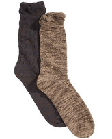 Gold Toe Women's 2-Pk. Crochet Slub Boot Socks