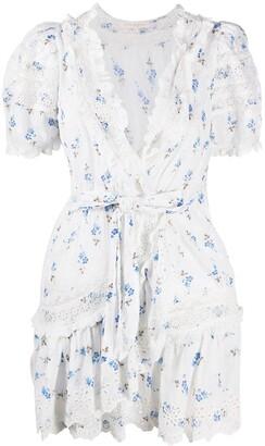 LoveShackFancy Floral Print Dress