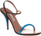 Tabitha Simmons Deon Glitter Leather Sandal