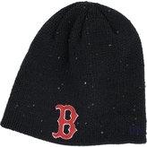 New Era Women's Boston Red Sox Glistener Knit Hat
