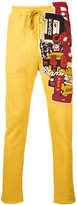 Doublet - embroidered tracksuit trousers - men - Cotton - S