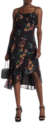 Rachel Roy Luce Floral Ruffle Tier Dress