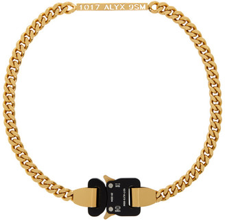 Alyx Gold Buckle Necklace