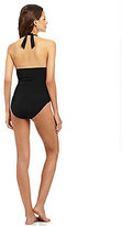 Kenneth Cole Reaction Ruffle-Licious One-Piece Swimsuit