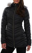 Spyder Faux Fur-Trimmed Hooded Down Jacket