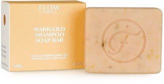 Flow Cosmetics Marigold Gentle Shampoo Bar For Normal And Curly Hair
