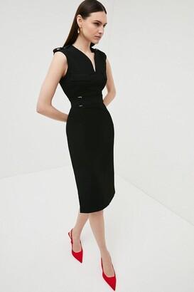 Karen Millen Square D Ring Pencil Dress