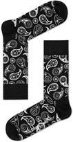 Happy Socks Paisley Socks, Black