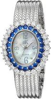 Adee Kaye Women's AK2423-BU GLAM COLLECTION Analog Display Analog Quartz Watch