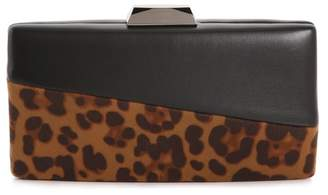 La Regale Colorblock Minaud Clutch