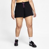 Nike Women's French Terry Shorts (Plus Size Sportswear Icon Clash