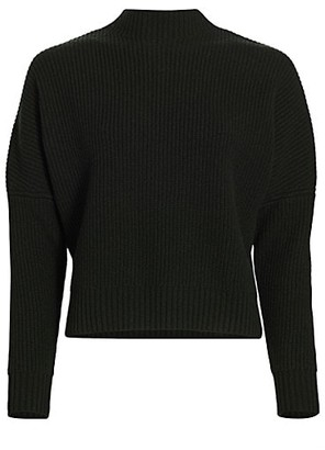 Akris Punto Wool Cashmere Mockneck Knit Sweater