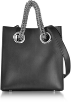 Alexander Wang Genesis Sq Shopping Bag w/Boxy Chain Straps