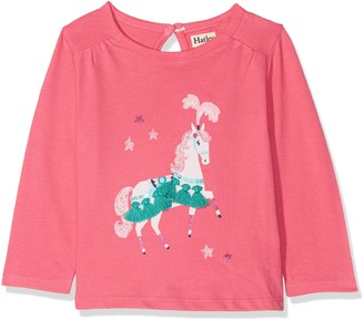 Hatley Baby Girls' Mini Long Sleeve Graphic Tees Longsleeve T-Shirt
