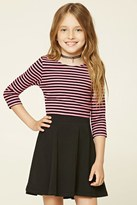 Forever 21 Girls Striped Knit Tee (Kids)