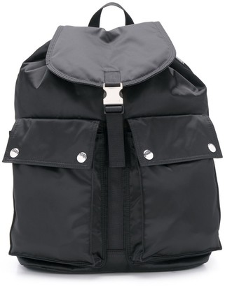 Porter Black Nylon Back Pack