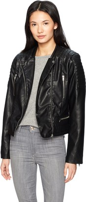Members Only Women's Moto Jacket