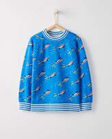 Hanna Andersson Kickflip Sweatshirt In 100% Cotton