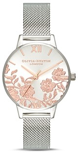 Olivia Burton Lace Detail Watch, 30mm