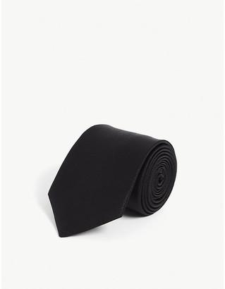 Lanvin Wide silk tie