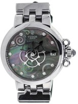 Tudor Clair De Rose Stainless Steel 34mm Womens Watch