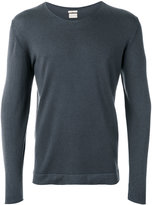 Massimo Alba long sleeve scoop neck sweatshirt - men - Cashmere - S